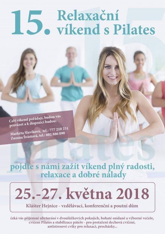 15. relaxační víkend s Pilates