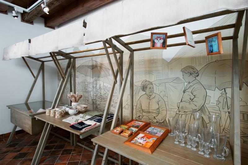 Expozice ve Špitálku prošla úpravou. Je atraktivnější a na návštěvníky i mluví