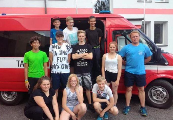 Mladí hasiči z Frýdlantu měřili síly v krajských závodech