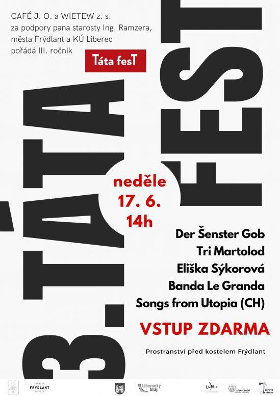 Pozvánka na TÁTAFEST 2018