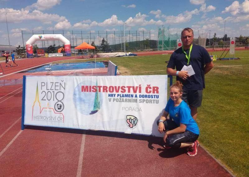 Na mistrovství republiky skončila Nikola Nováková devátá