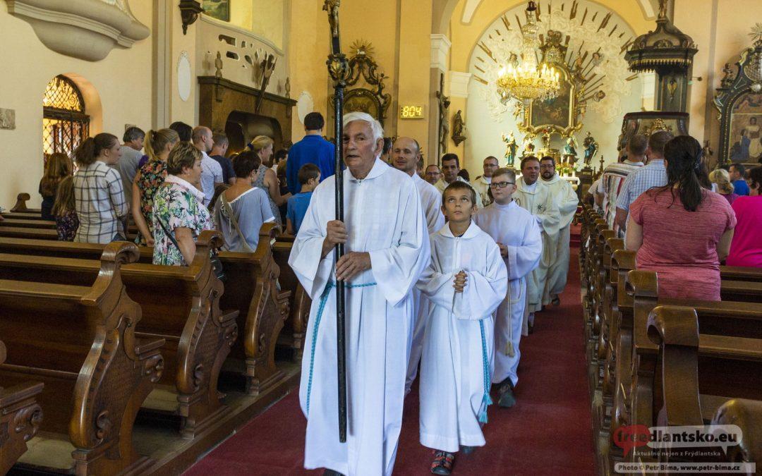 Poutní mše svatá v kostele Nanebevzetí Panny Marie v Raspenavě / 2018