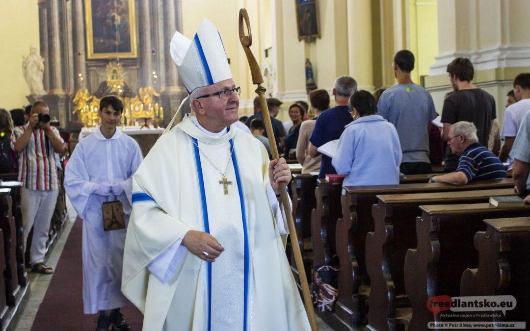 Litoměřický biskup Mons. Jan Baxant navštívil Hejnice