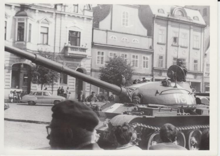 Okupační vojska proudila do Československa i přes Frýdlant