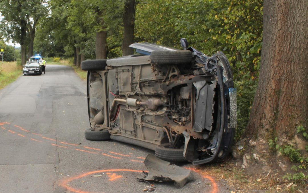 Řidič Renaultu havaroval, byl pod vlivem drog