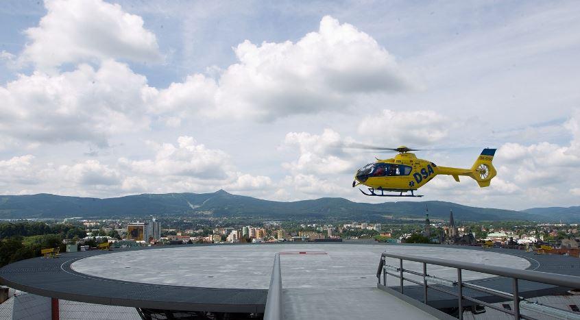 Liberec má moderní heliport, vrtulníky přesto nemohou létat za tmy