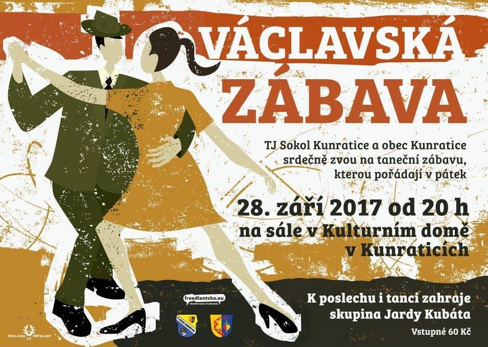 Pozvánka na Václavskou zábavu