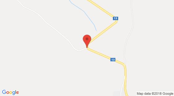 Nehoda nákladního vozidla u Dětřichova
