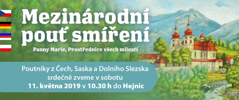Mezinárodní pouť smíření Panny Marie, Prostřednice všech milostí / Hejnice 2019