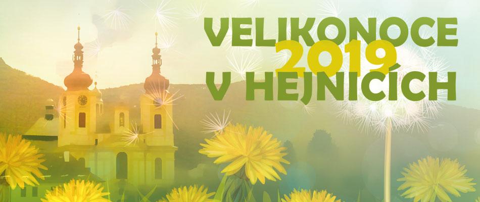 Velikonoce 2019 v Hejnicích