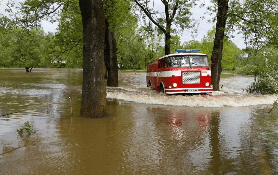 V Česku pršelo nejvíc na Smědavě, na metr čtvereční spadlo 144 litrů vody