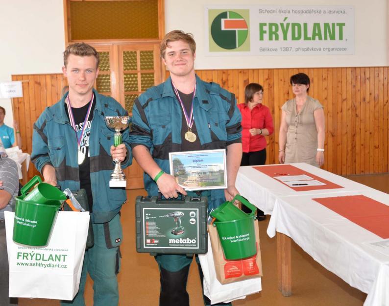 Zemědělské olympiádě žáků středních škol vévodili ti frýdlantští
