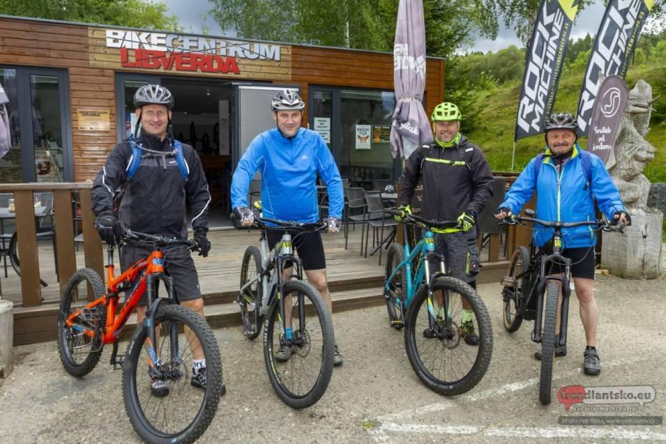 Hejtman Libereckého kraje navštívil Singltrek pod Smrkem