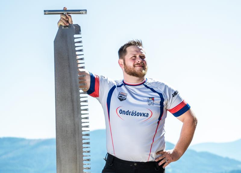Frýdlantský Martin Roušal bude reprezentovat ČR na mistrovství světa v Timbersports