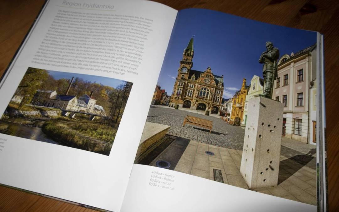 Nejen Frýdlantsko, ale i další regiony najdete v nově vydané obrazové publikaci z Libereckého kraje