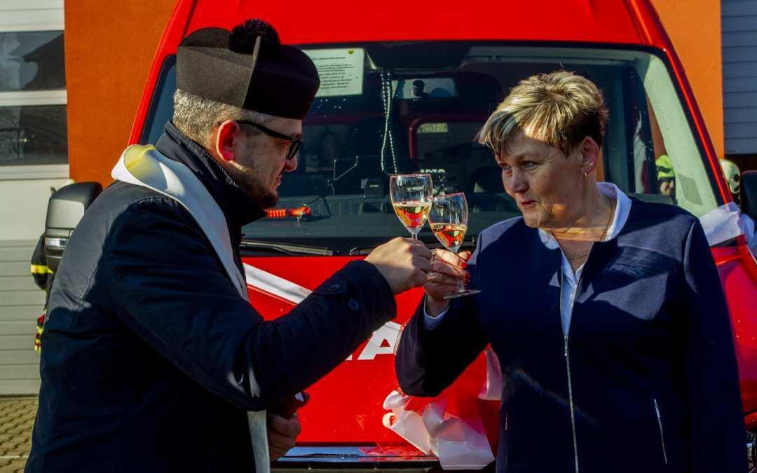 Dětřichovští hasiči dostali nový automobil  / Fotoreportáž