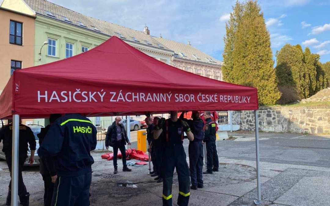 Liberecká nemocnice dnes otevřela stacionární odběrové místo