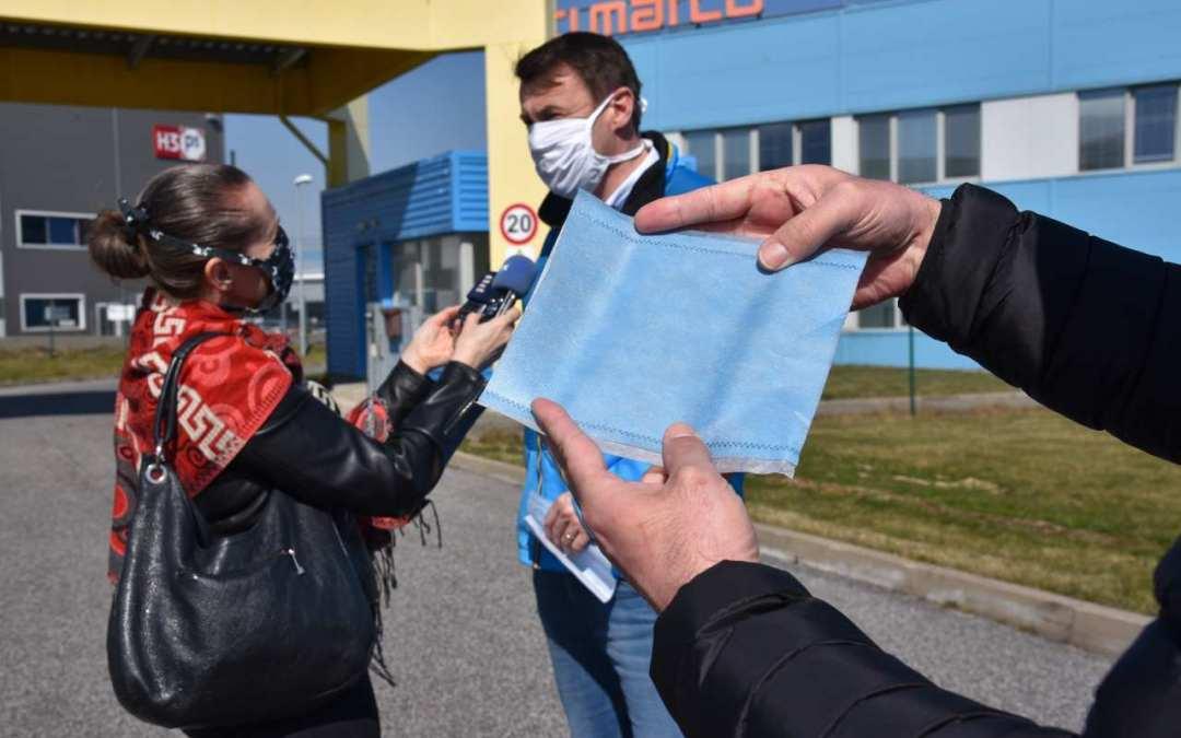Liberecký kraj začne vyrábět filtry do roušek z nanovláken pro záchranáře v celé zemi