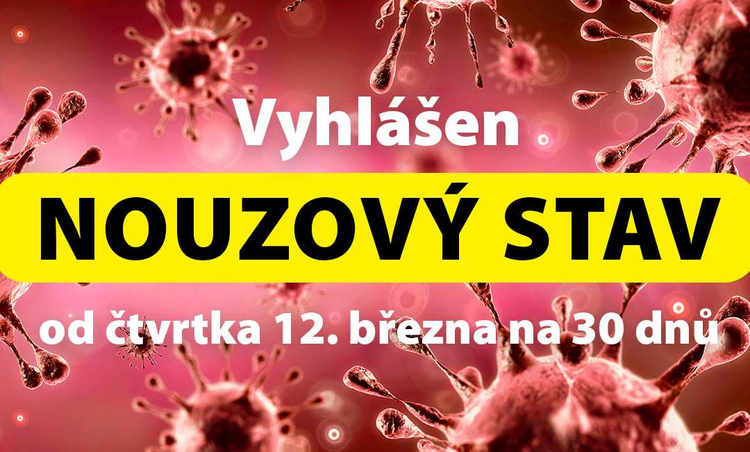 Omezení pohybu, restaurací a akcí nad 30 lidí / Nouzový stav v Česku