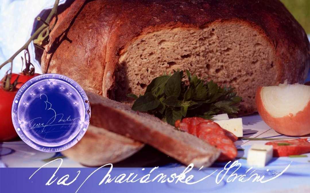 Rozvrh rozvozu chleba a pletýnek na Frýdlantsku z chlebové pece Na Mariánské stráni