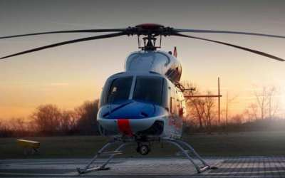 Na letišti roste nový heliport. Hotový by mohl být do konce léta