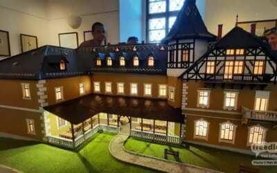 Slavnostní představení modelu hotelu Perun / Kaiserhof v Hejnicích / Fotoreportáž