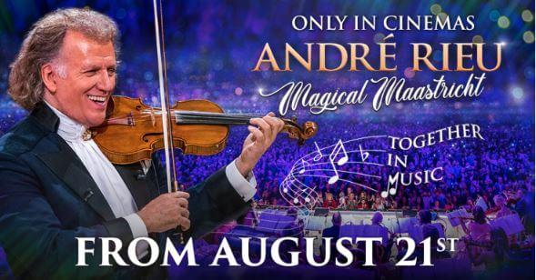 Záznam koncertu Andrého Rieu v kině? Ve Frýdlantě ano!
