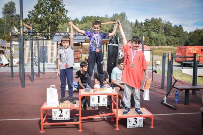 Workoutové hřiště ve Strmé hostilo závody pro všechny věkové kategorie