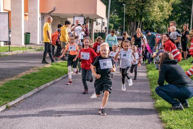 Ceebius Run 2020 aneb běháme pro Michalku