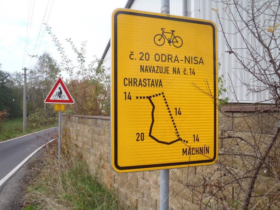 Česko-polský projekt pomůže zkvalitnit značení cyklotras