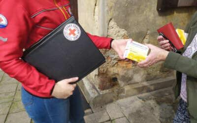 Humanitární organizace v kraji nabídly svoji pomoc v obcích, stejně jako na jaře budou k ruce seniorům a sociálně slabším