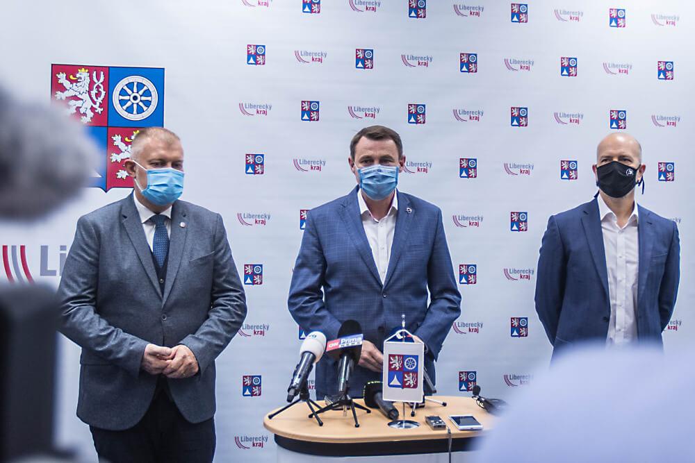 Dohodnuto. Liberecký kraj povedou Starostové, Piráti a ODS