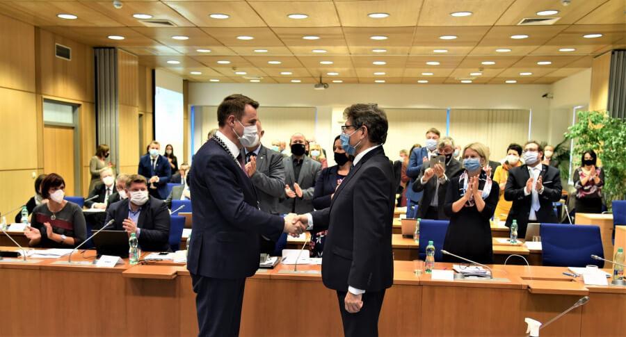 Martin Půta byl potřetí za sebou zvolen hejtmanem, Liberecký kraj povede trojkoalice