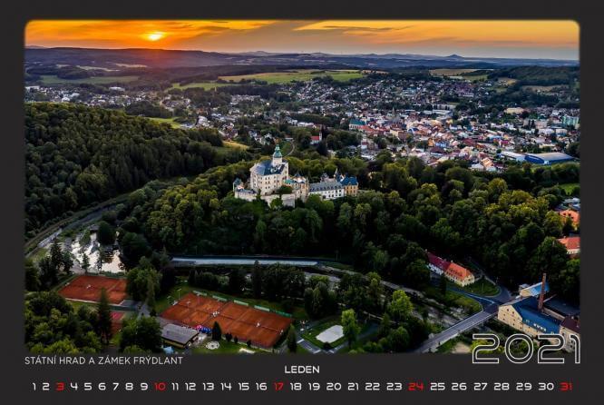 Krásné fotografie Frýdlantu a Frýdlantska na výstavě i v kalendáři