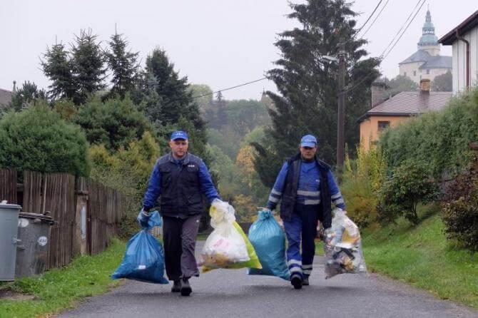 Poslední svoz tříděného odpadu v tomto roce proběhne 16. prosince