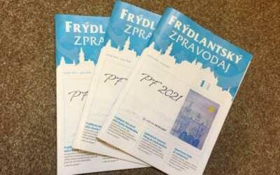 Lednový Frýdlantský zpravodaj je již v prodeji, přečtěte si, kde všude