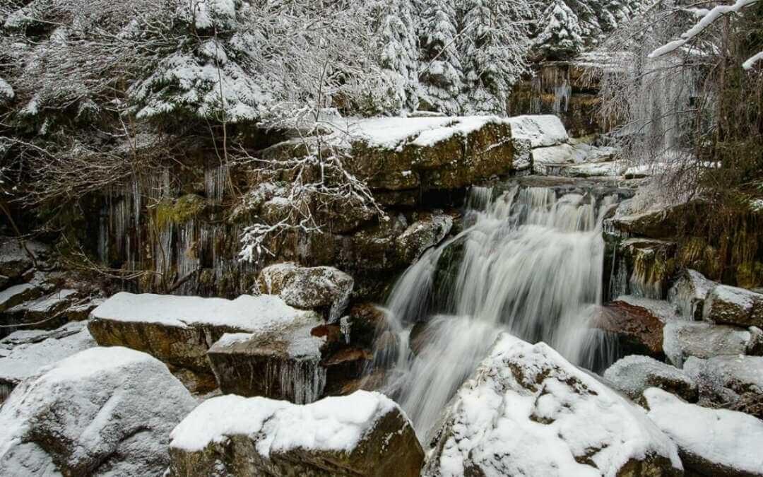 Království vody a ledu. Tři výlety k zimním vodopádům v Jizerských horách