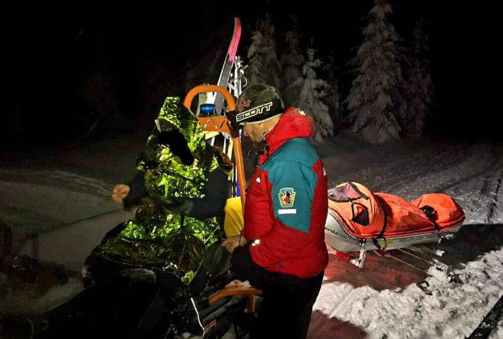 Horská služba v Jizerkách zachraňovala dva lyžaře. Chtěli si zkrátit cestu a zabloudili