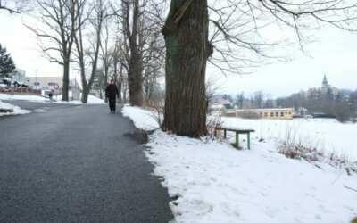 Podél částí ulic Bělíkova a Zámecká chce Frýdlant vybudovat stezku pro cyklisty a chodce