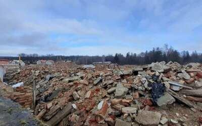 Deník na návštěvě: Z Textilany v Novém Městě pod Smrkem zbyla jen hromada cihel