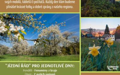 Tipy na lepší časy: nová kampaň Libereckého kraje představí krásy regionu