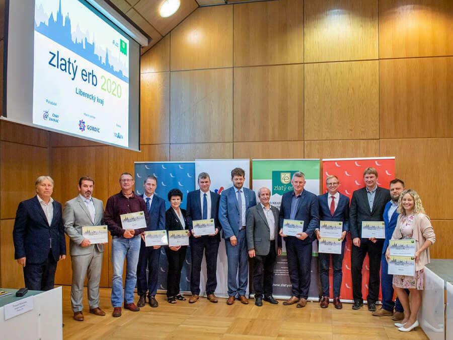 Liberecký kraj vyhlašuje tradiční soutěž Zlatý erb o nejlepší webové stránky měst a obcí