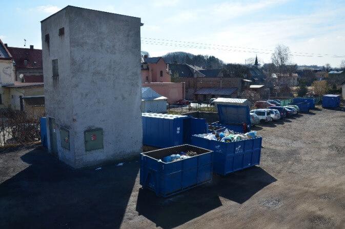 Upozornění k odevzdávání odpadů na sběrném místě v ul. Raisova, Frýdlant