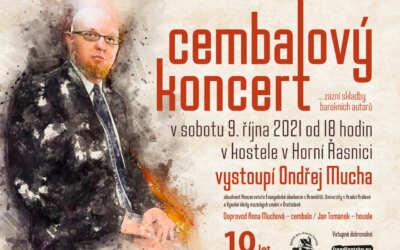 Cembalový koncert v kostele v Horní Řasnici